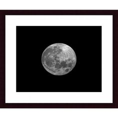 236x236 Full Moon Poster Art, Digital Download La Luna Moon Poster, Lunar