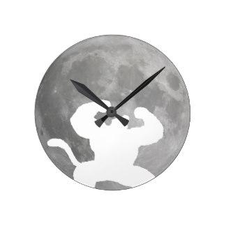 324x324 Full Moon Wall Clocks Zazzle.co.nz