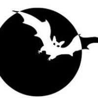 200x200 Moon Black And White Clipart