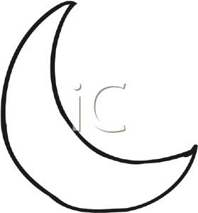 279x300 Moon Black And White Clipart 1877597