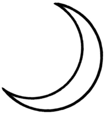368x400 Moon Clip Art Many Interesting Cliparts