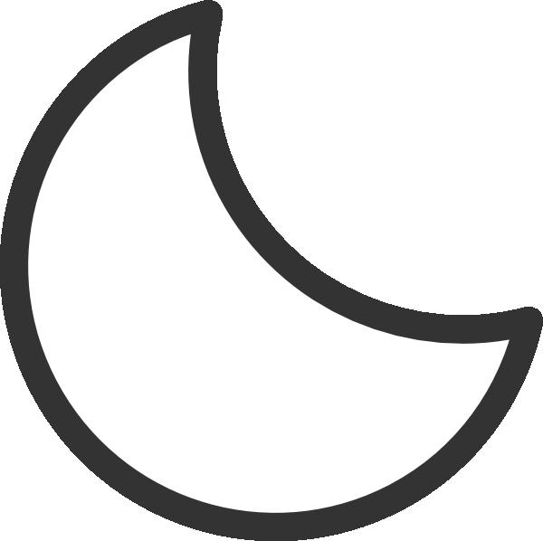 600x598 Moon Clip Art