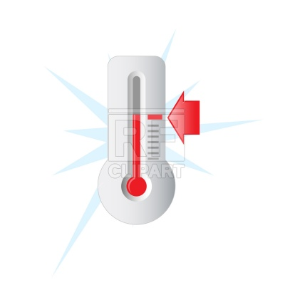 400x400 Goal Thermometer Royalty Free Vector Clip Art Image