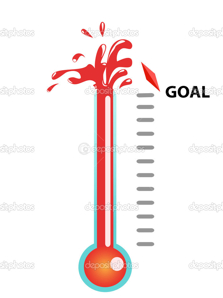 768x1024 Dance Blank Thermometer Clipart