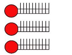 236x182 Custom Quintuple Goal Thermometer Design Custom Goal