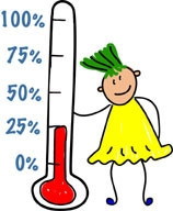 158x192 Fundraiser Thermometer Clip Art Clipart