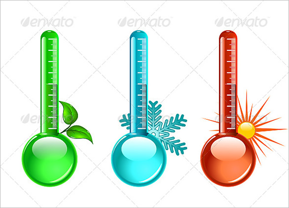 585x422 Graphics For Thermometer Graphics