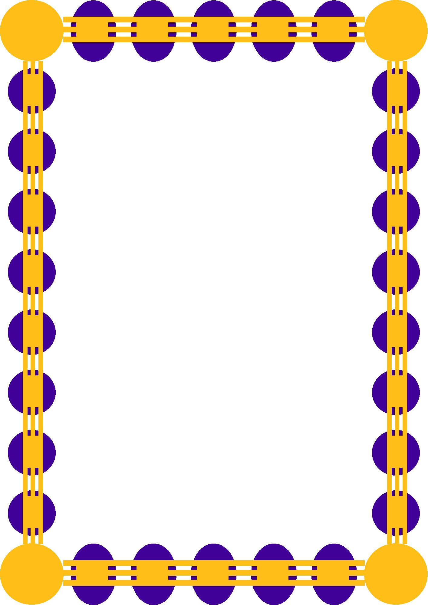 1414x2000 Borders Clipart