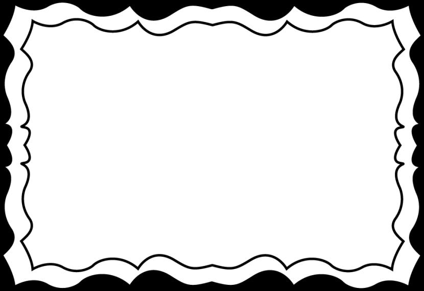830x570 Border + Clipart