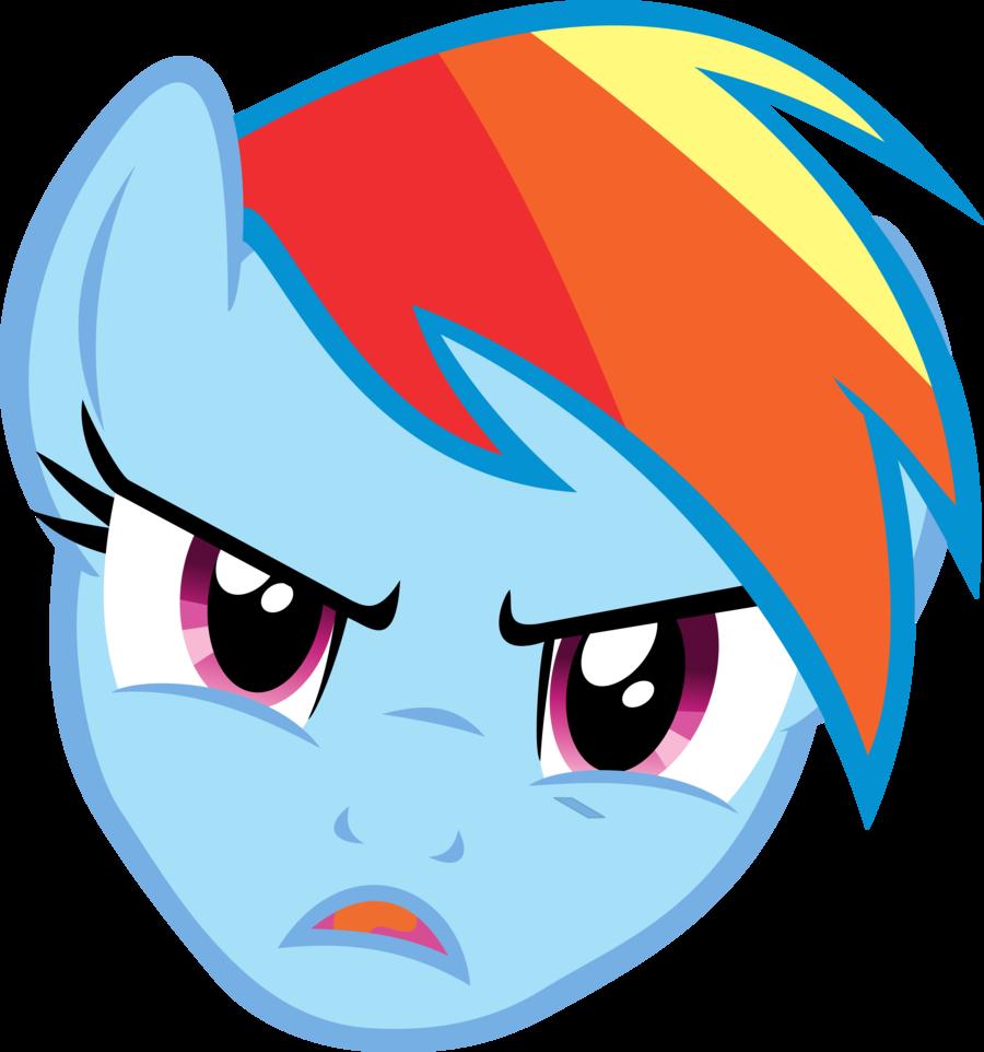 900x962 Angry Cartoon Face Girl
