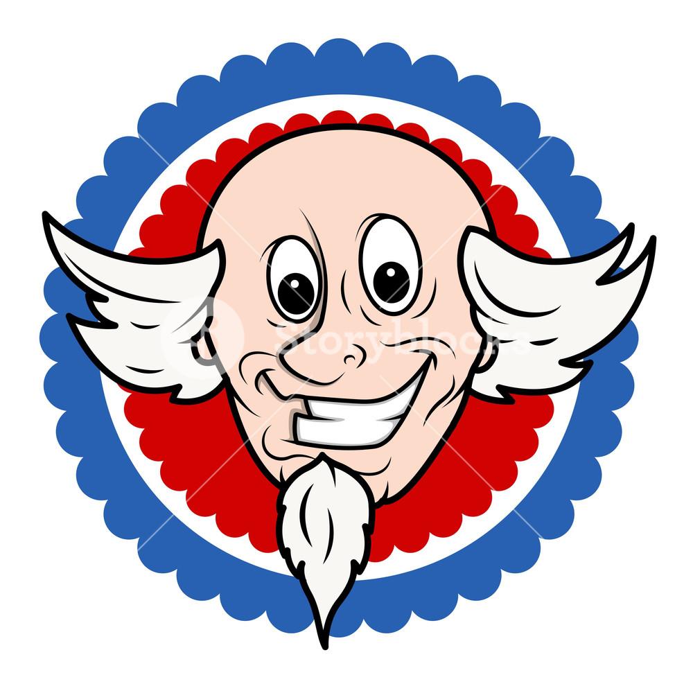 1000x987 Happy Dumb Funny Cartoon Face Royalty Free Stock Image