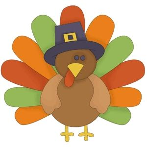 Funny Cartoon Turkeys Clipart