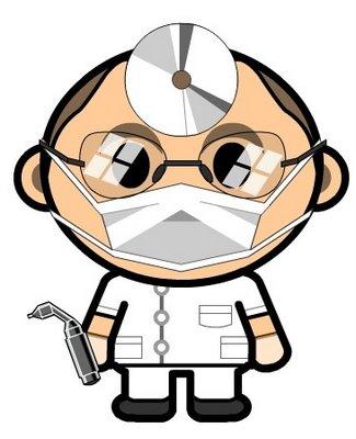 325x400 Funny Dentist Clipart