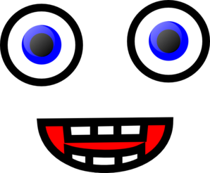 298x246 Funny Face Clip Art