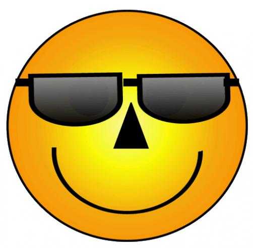 502x493 Funny Smiley Face Clip Art