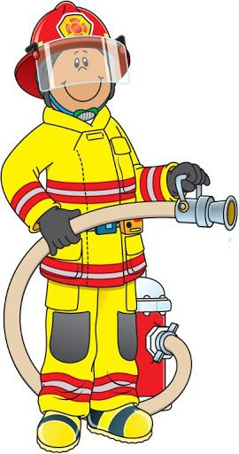 Funny Firefighter Cartoon