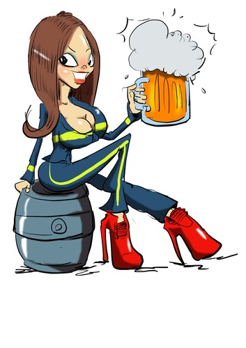 353x500 Cartoon Firefighter Pictures