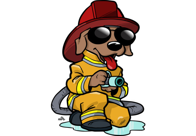 650x450 Firefighter Clipart Funny