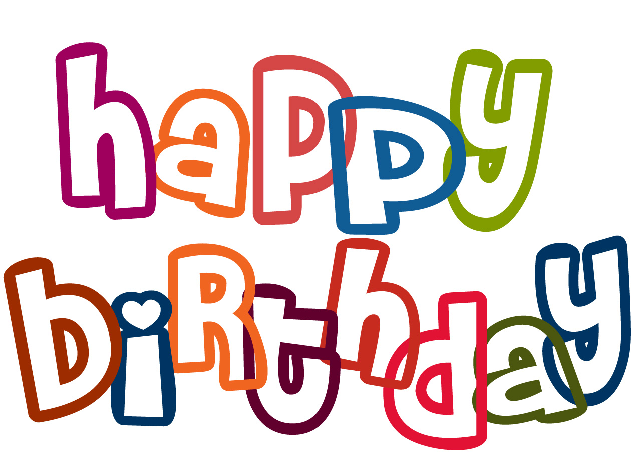 Funny Happy Birthday Clipart