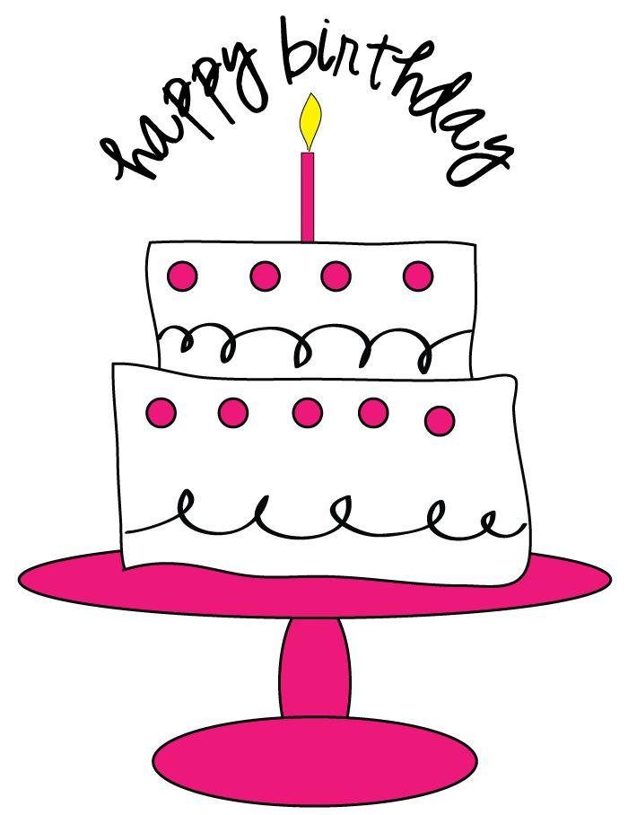 700x908 Funny Birthday Cake Clip Art