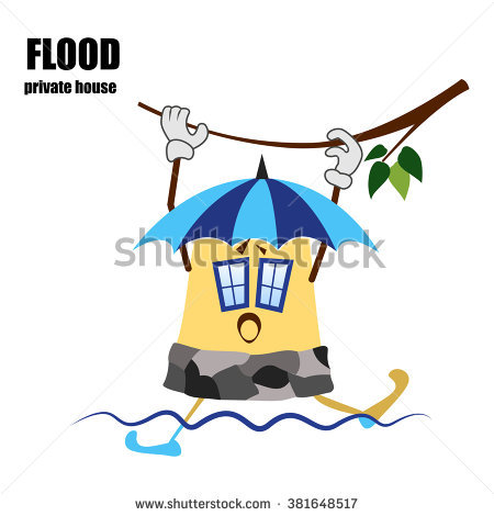 450x470 Flooded Clipart Hurricane
