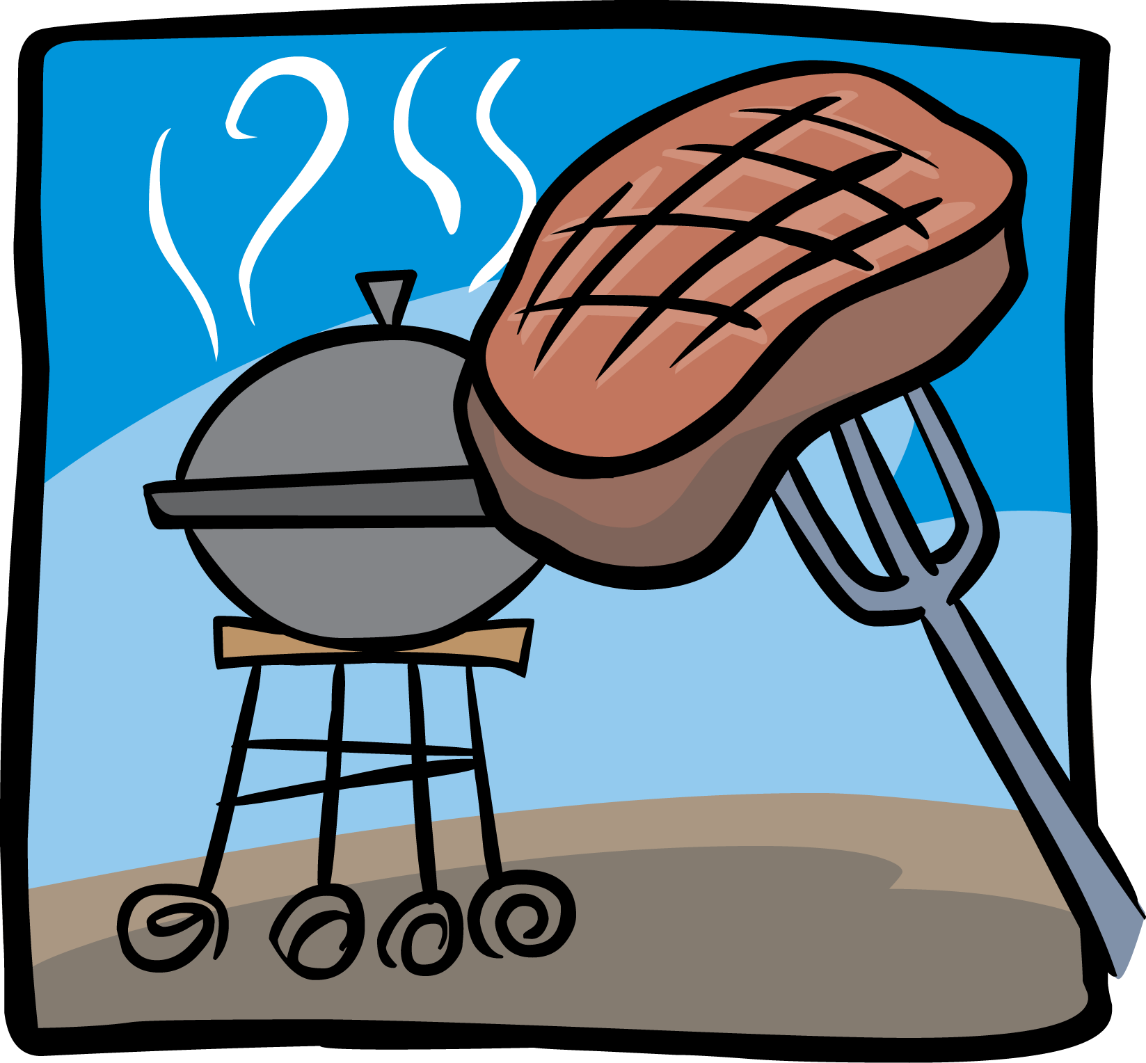 1647x1528 Steak Clipart Funny