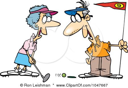 450x309 Funny Ladies Golf Clip Art