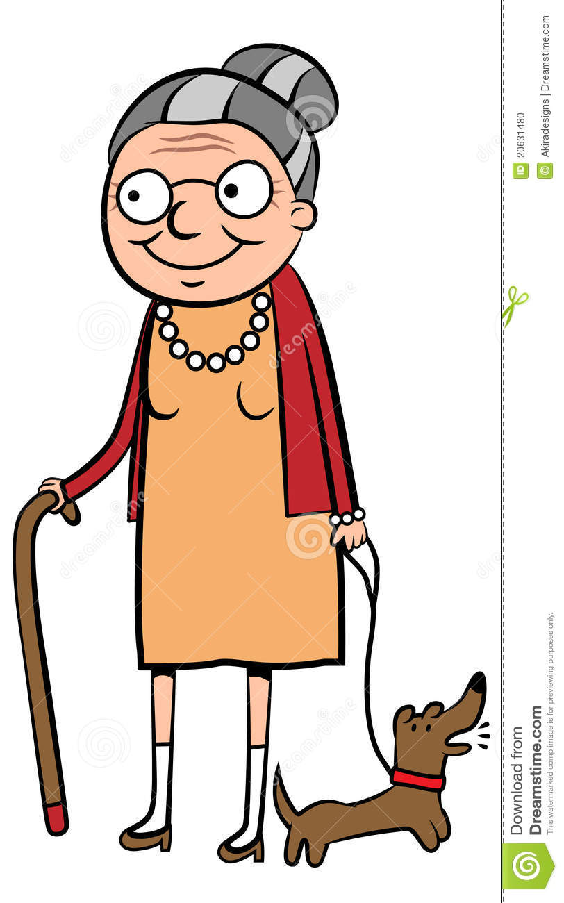 812x1300 Funny Old Woman Clipart