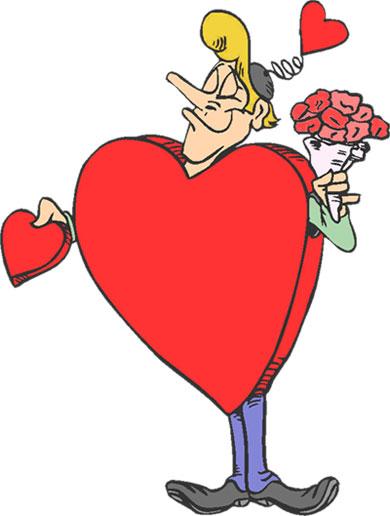 390x516 Funny Valentine Clipart