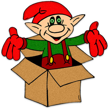 350x350 Moving Clipart Elf