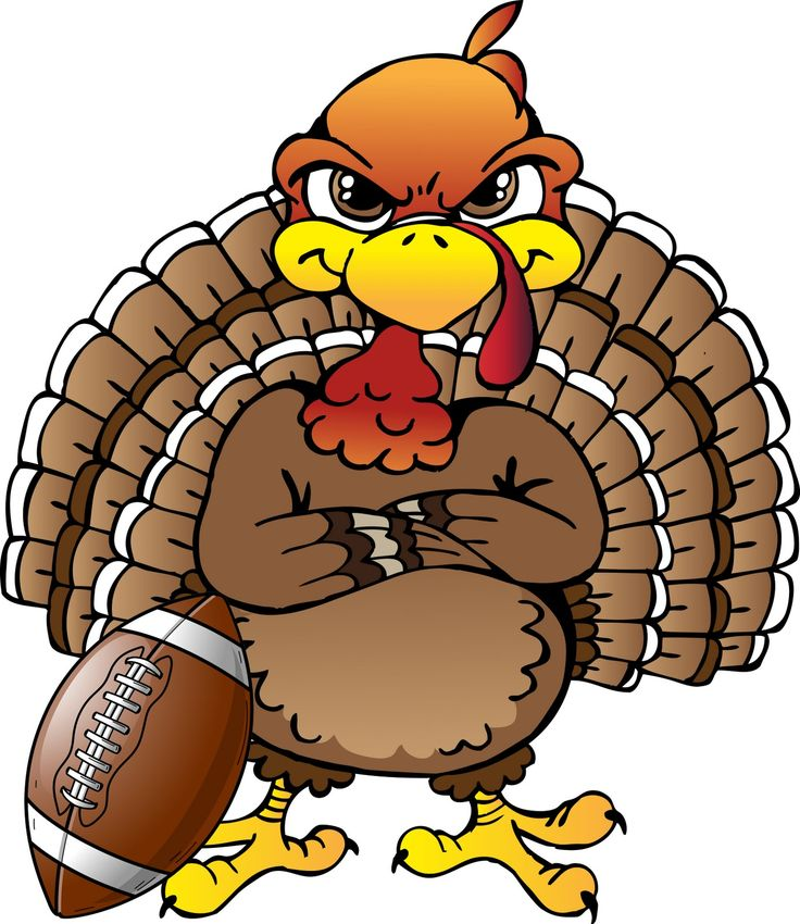 736x850 Thanksgiving Day Football Clipart