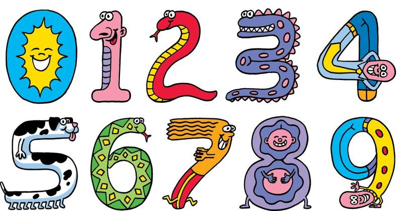 Funny Numbers Clipart | Free download on ClipArtMag