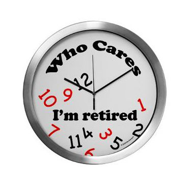 375x375 Best Retirement Clock Ideas Retirement Cakes