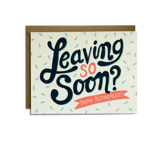 570x492 Funny Retirement Card Sarcastic Congratulations Leaving