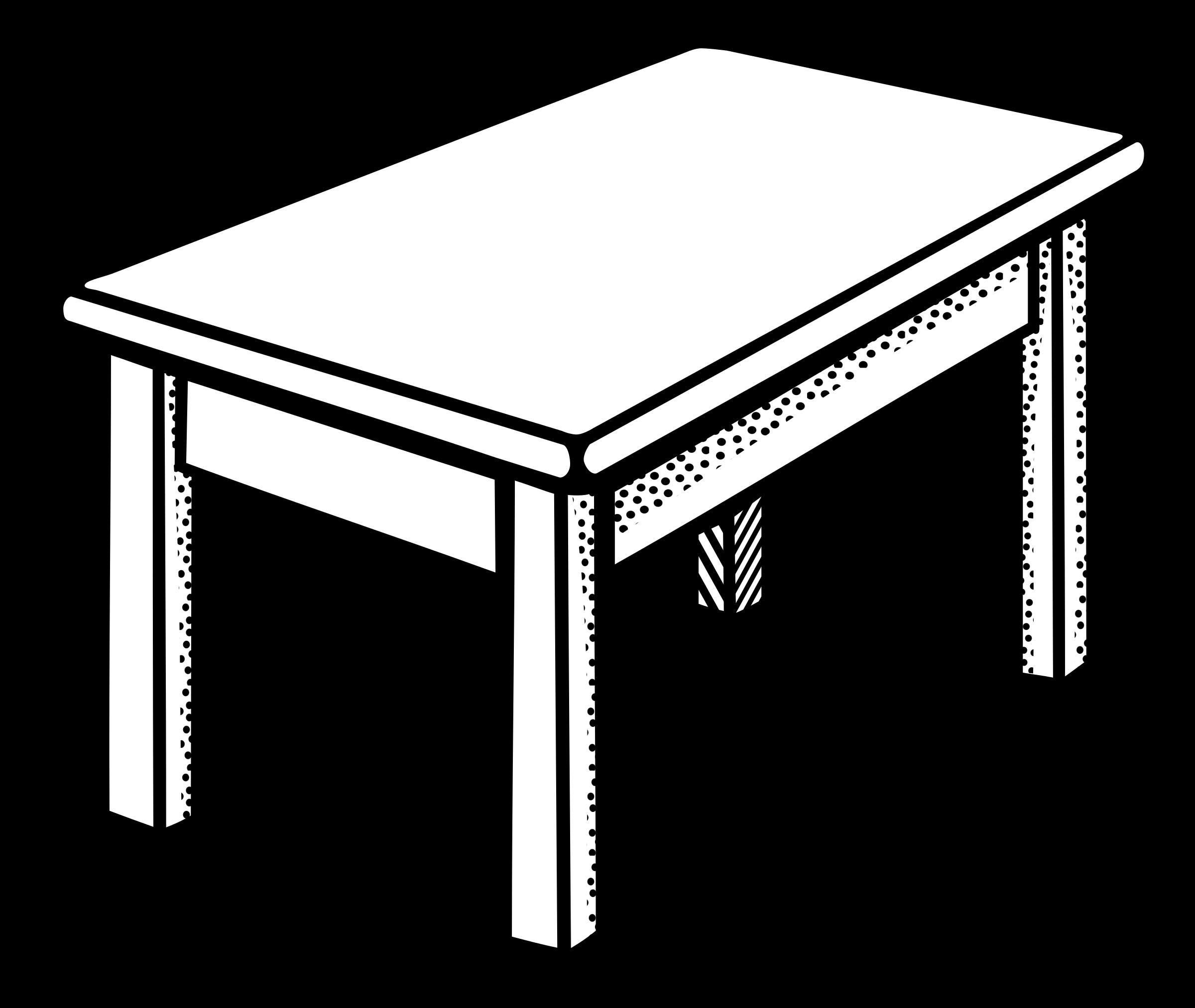 2400x2026 Clip Art Table