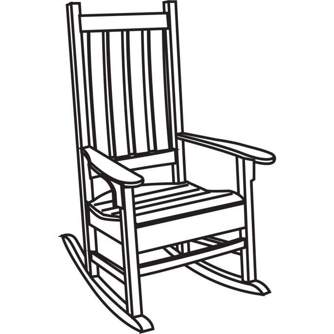 687x687 Furniture Chairs Clipart Black White Chair Clipart Black