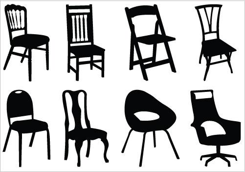 501x352 Furniture Cute Chair Clipart Black And White Clipart Panda