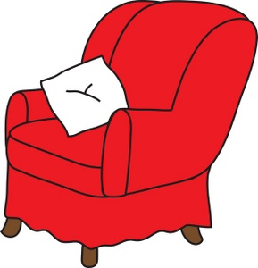 289x300 Arm Chair Clipart Image