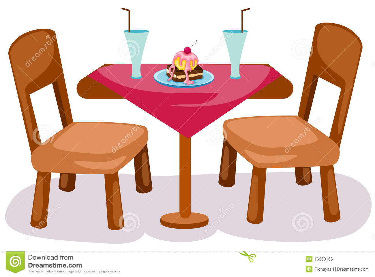 1300x962 Furniture Clipart Table Chair