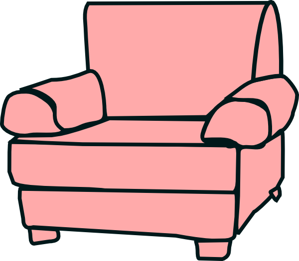 600x525 Vector Clipart Furniture