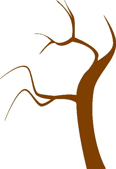 408x592 Brown Tree Clip Art