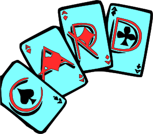 300x262 Cards Games Clip Art