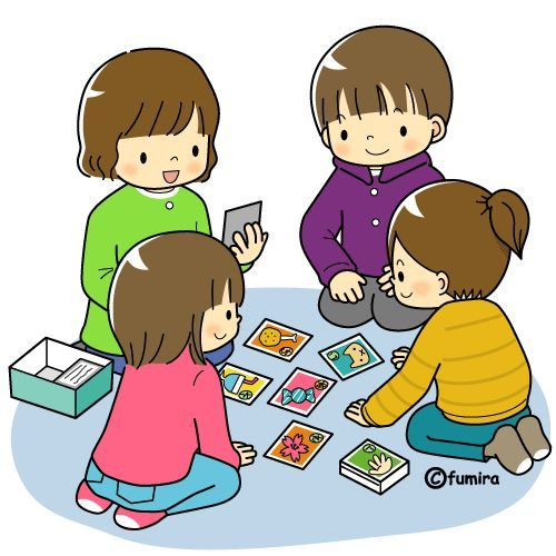 500x500 Child Clipart Playing Card