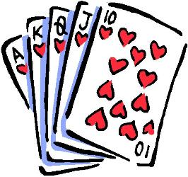 266x250 Game Clipart Playing Card