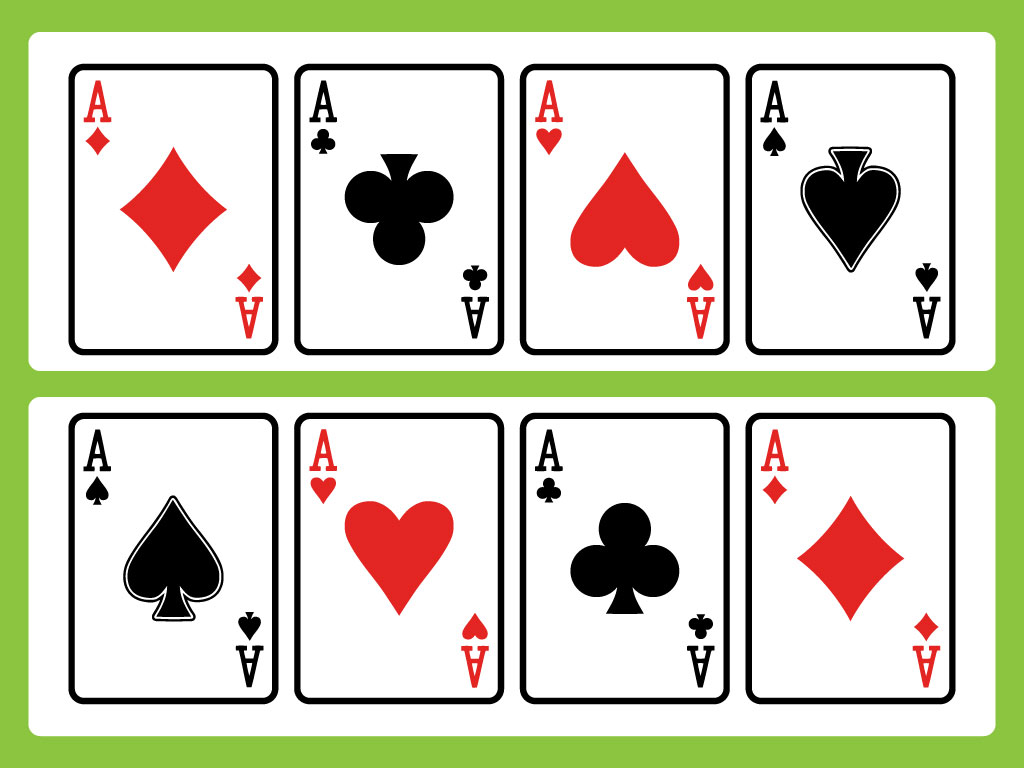 1024x768 Card Game Vector