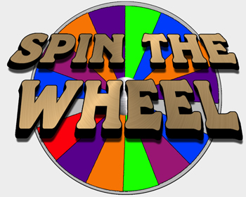 350x280 Spin The Wheel Game Clipart