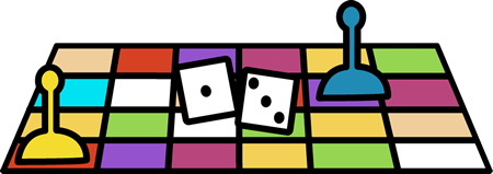 450x159 Board Game Pieces Clip Art