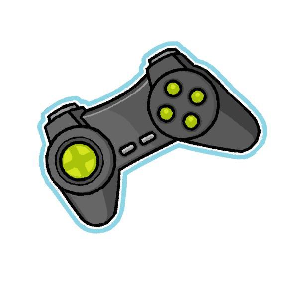 565x569 Video Game Controller Clip Art