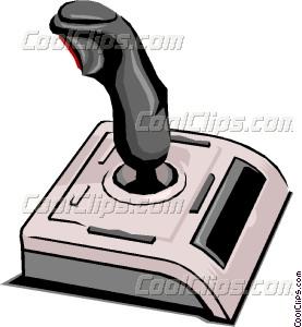 277x300 Computer Joystick Vector Clip Art