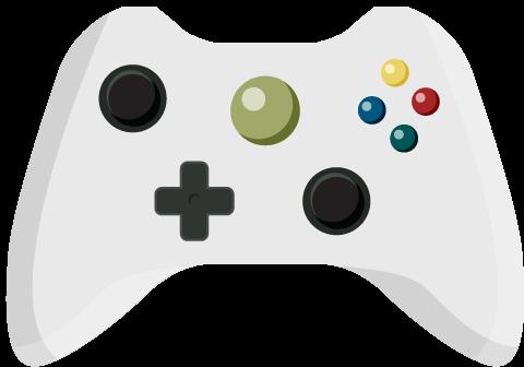 480x336 Controller Clipart Video Game Controller